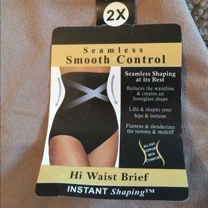 Hi Waist Brief size 2X